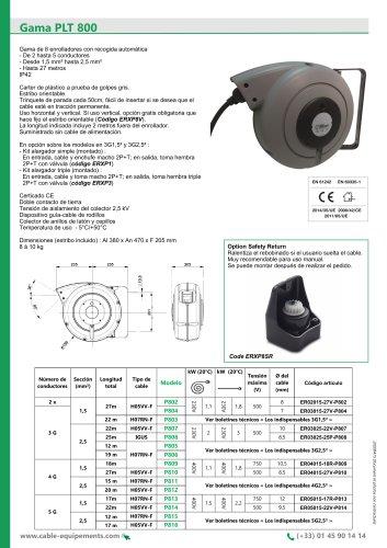 Gama PLT 800