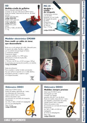 Medidor electrónico CM3000