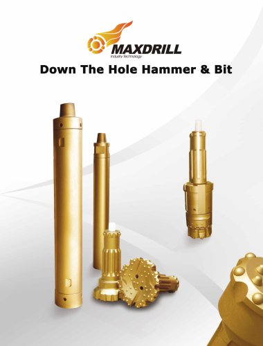 Maxdrill Down The Hole Drill Bits