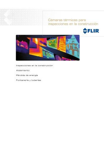Cámaras de imagen térmica para aplicaciones de la construcción