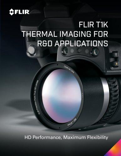 FLIR T1K THERMAL IMAGING FOR R&D APPLICATIONS