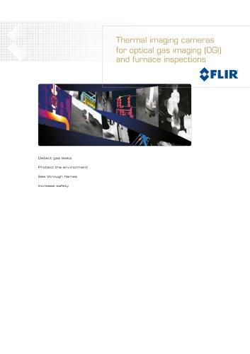 Thermal imaging cameras for optical gas imaging