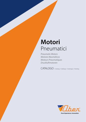 Pneumatic Motors Catalog