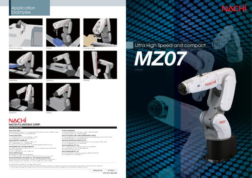 Ultra High Speed and compact MZ07