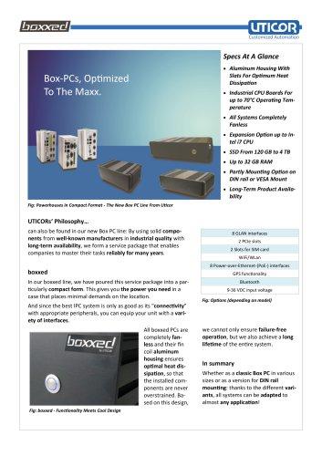 boxxed  - Box PCs, Optimized To The Maxx.