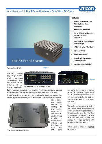Industry Box PC