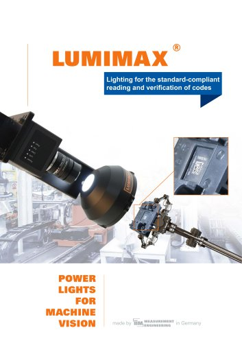 Lighting for the standard-compliant reading and verification of codes