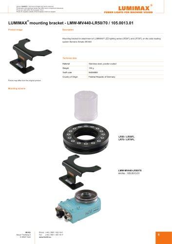 LUMIMAX mounting bracket for Siemens MV440