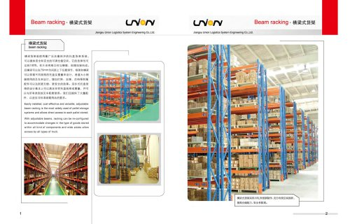 Union Heavy Duty Rack for Warehouse