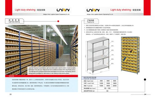 Union Light&Mid Duty Shelving