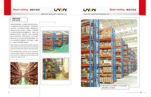 Union Pallet Racking PR16071801