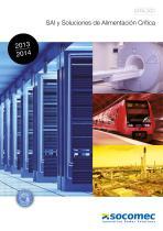 Catálogo: SAI y Soluciones de Alimentación Crítica - EMEA area (Europe-Middle East-Africa)