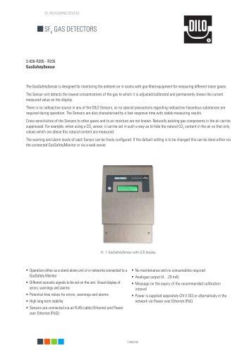 GasSafetySensor 3-026-R205 / R235