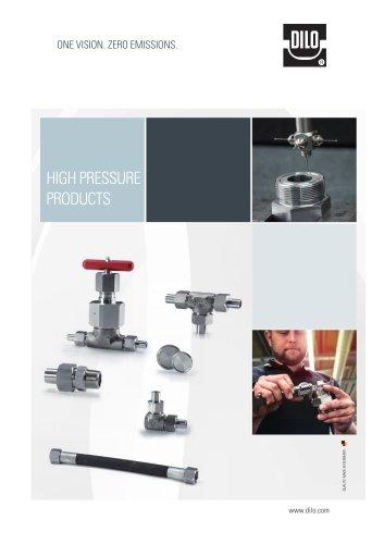 High pressure tube unions