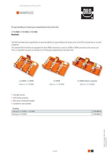 Manifolds 3-718-R006 / 3-718-R036 / 3-718-R002
