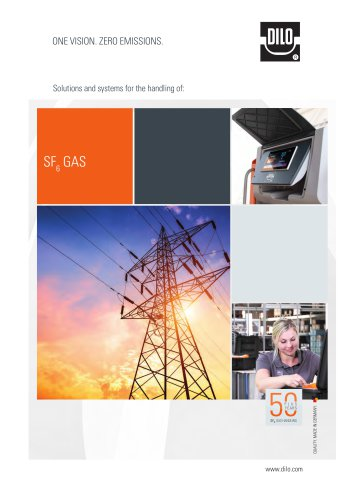Solutions and systems for the handling of SF6 gas