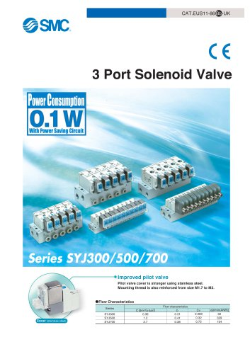 3 port solenoid Valve