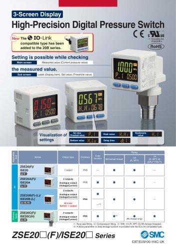 High-Precision Digital Pressure Switch