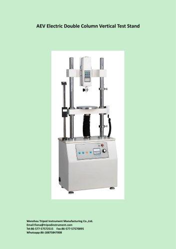 AEV electric vertical test stand for destructive test/Wenzhou Tirpod/Measuring instrument