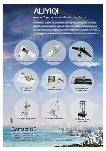 Analog force gauge/dynamometer professional instrument manufacturer/Wenzhou Tripod