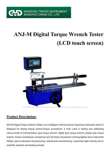 digital torque wrench calibrator machine/ANJ-M/Tripod instrument
