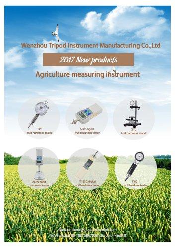 NEW!Agricultural measuring instrument/fruit hardness tester soil hardness tester/Wenzhou tripod instrument