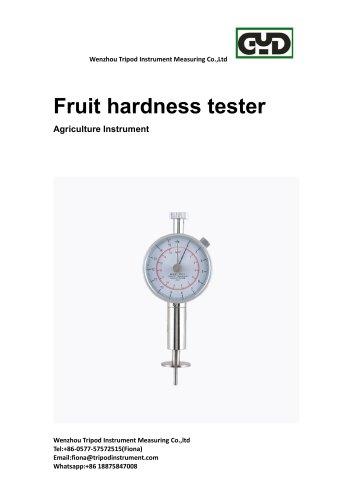 New!Analog fruit hardness tester agriculture instrument /Tripod