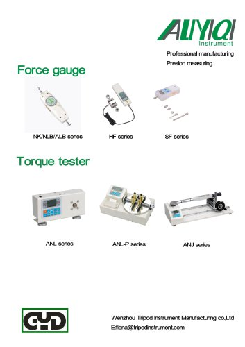 Strong products of Wenzhou Tirpod measuring instrument/Force guage/spring tester/tension meter/dynamometer