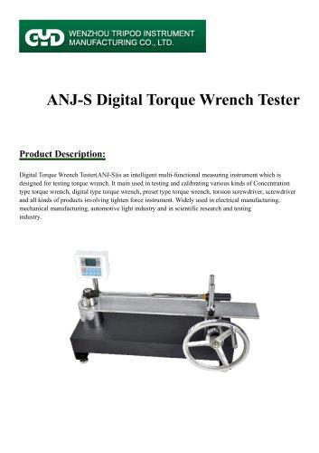 Tripod instrument/digital torque wrench/ANJ-S