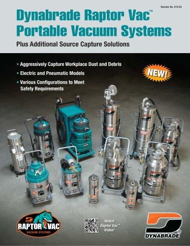 Dynabrade Raptor Vac™ Portable Vacuum Systems