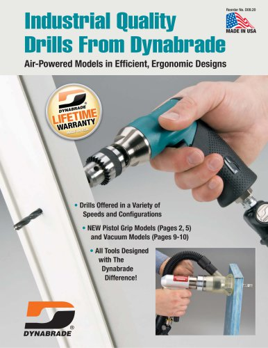Industrial Quality Drills From Dynabrade