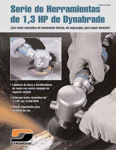 Serie de Herramientas de 1,3 HP de Dynabrade