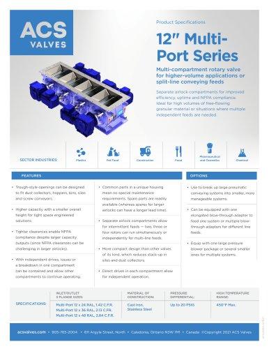 "12"" Multi-Port Series Valve"