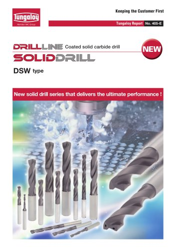 Coated solid carbide drill - SOLIDDRILL