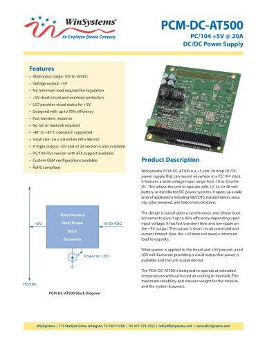 PCM-DC-AT500