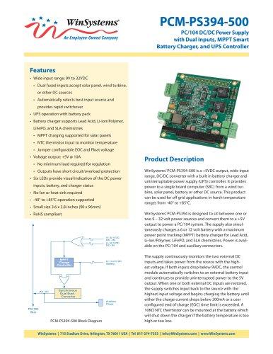 PCM-PS394-500