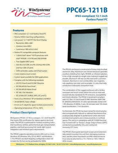 PPC65-1211B-DS