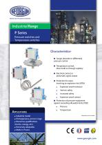 P series - Pressure switches and Temperature switches
