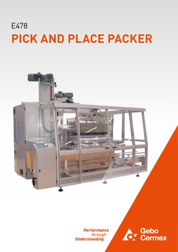 E478 - PICK AND PLACE PACKER