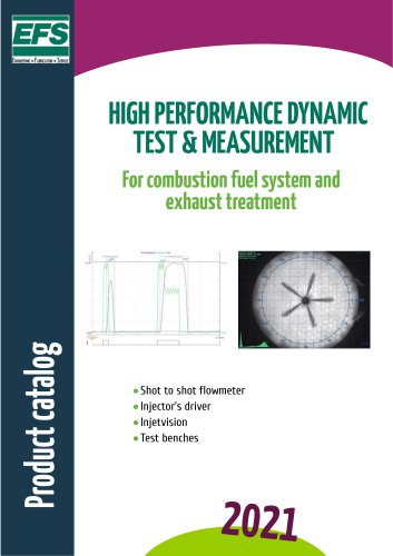 High performance dynamic test & measurement
