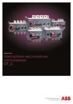 Interruptores-seccionadores conmutadores OT_C