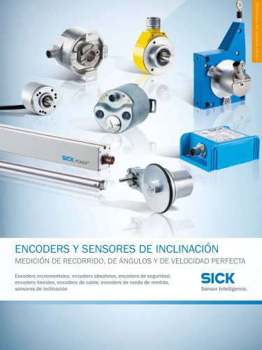 ENCODERS Y SENSORES DE INCLINACIÓN