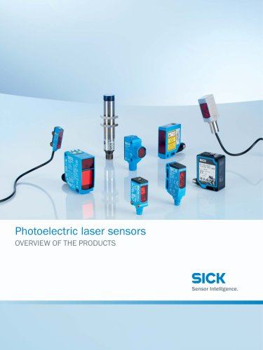 Photoelectric laser sensors
