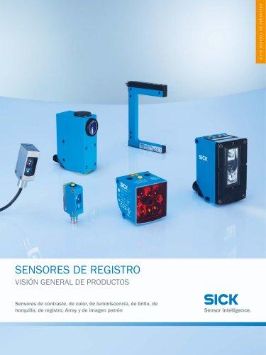 sensores  de registro