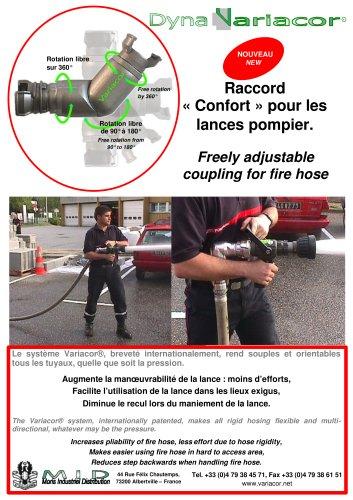 DynaVariacor for fire hose