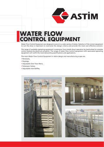Water Flow Control Equipment