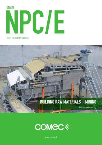 Comec-Binder Belt Filter Press NPC