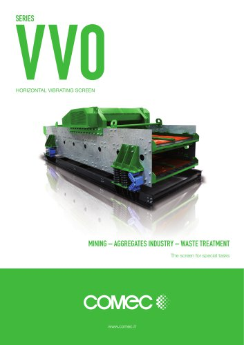 Comec Binder Horizontal Vibrating Screen VVO