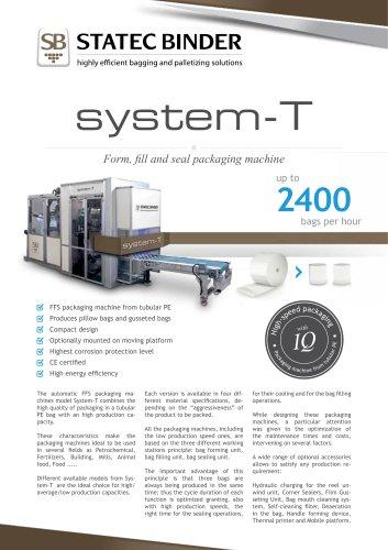 STATEC-BINDER System T