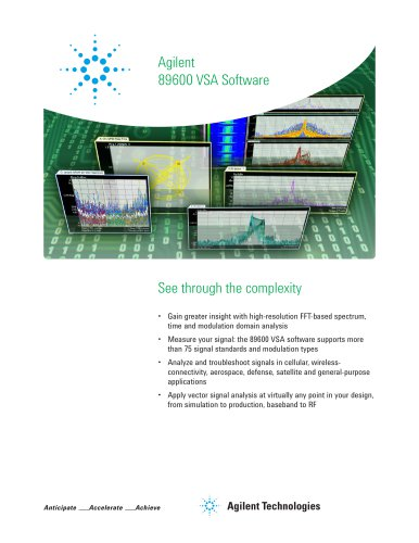 Agilent 89600 VSA Software